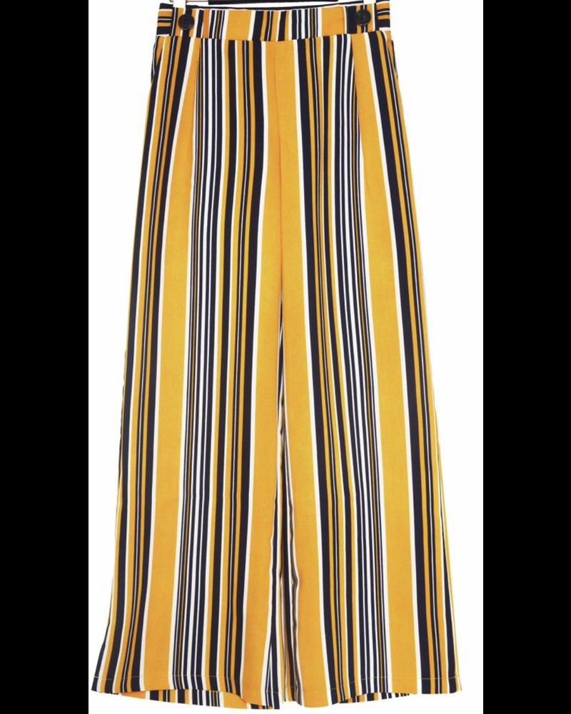 Pantalones Rayas Amarillo B La Btq Avarcaspr
