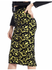 H-Line Midi Skirt With Lace