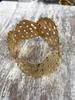 Adjustable Gold Plated Brazalet