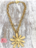 Big Flower Necklace