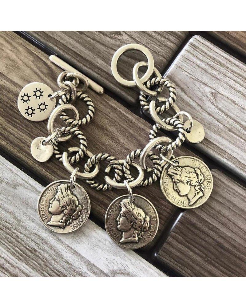 3 Coin Brazalet