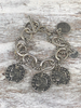 3 coins caesar bracelet