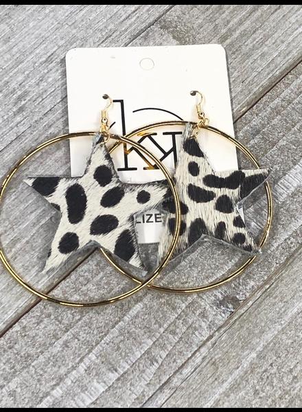 Zebra Earrings
