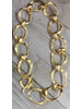 "Brass Gold Plated 24"" Necklace"