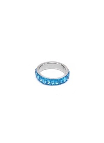 Sparkling And Thin Ring