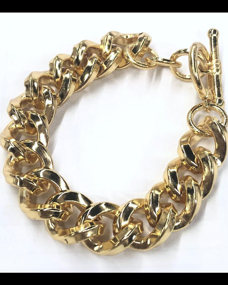 Gloss Gold plated Bracelet