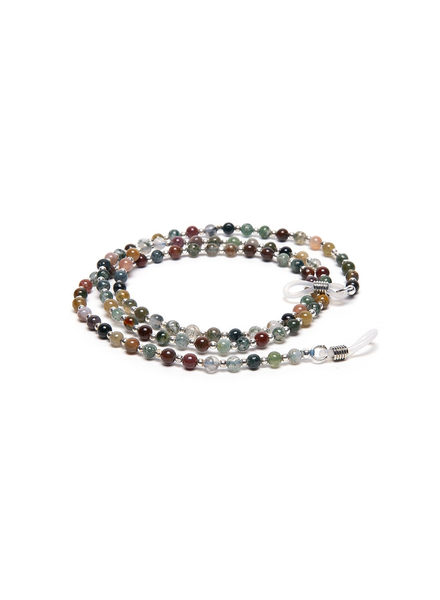 GLASSES STRING MULTICOLOR AGATE