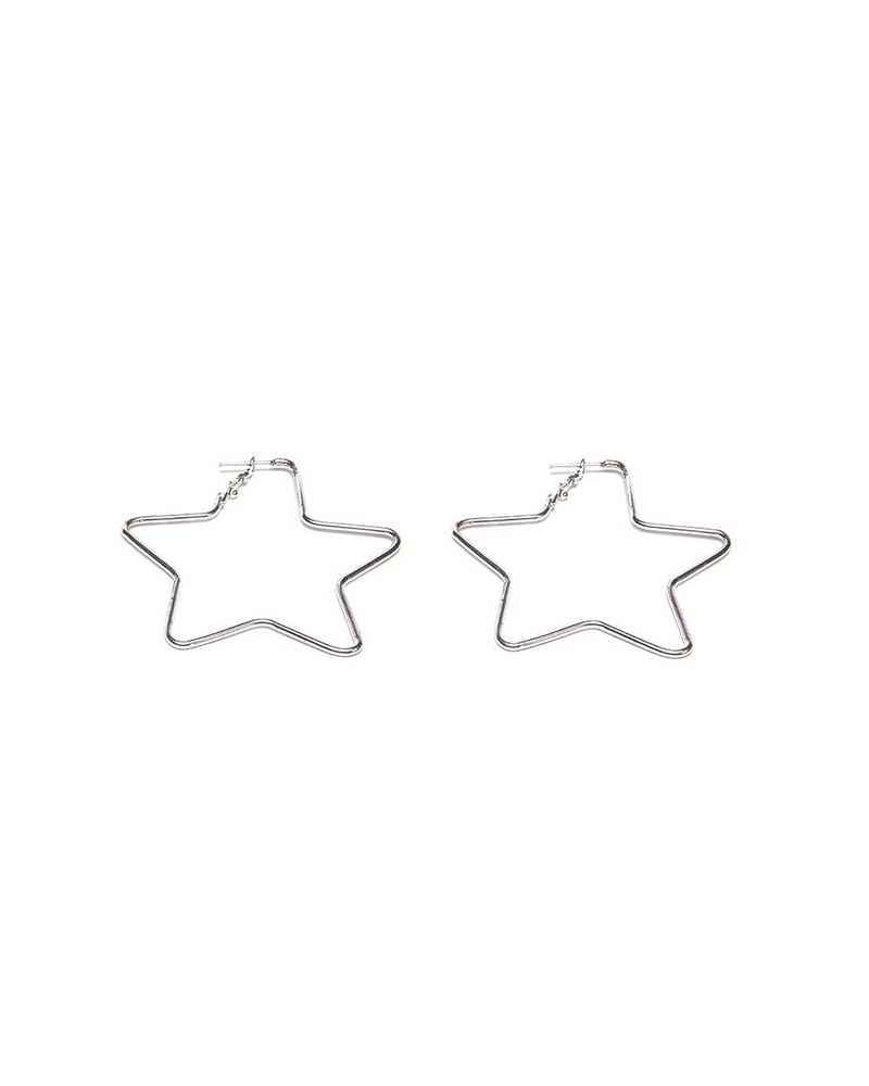 BIG STARS SHAPE EARRING