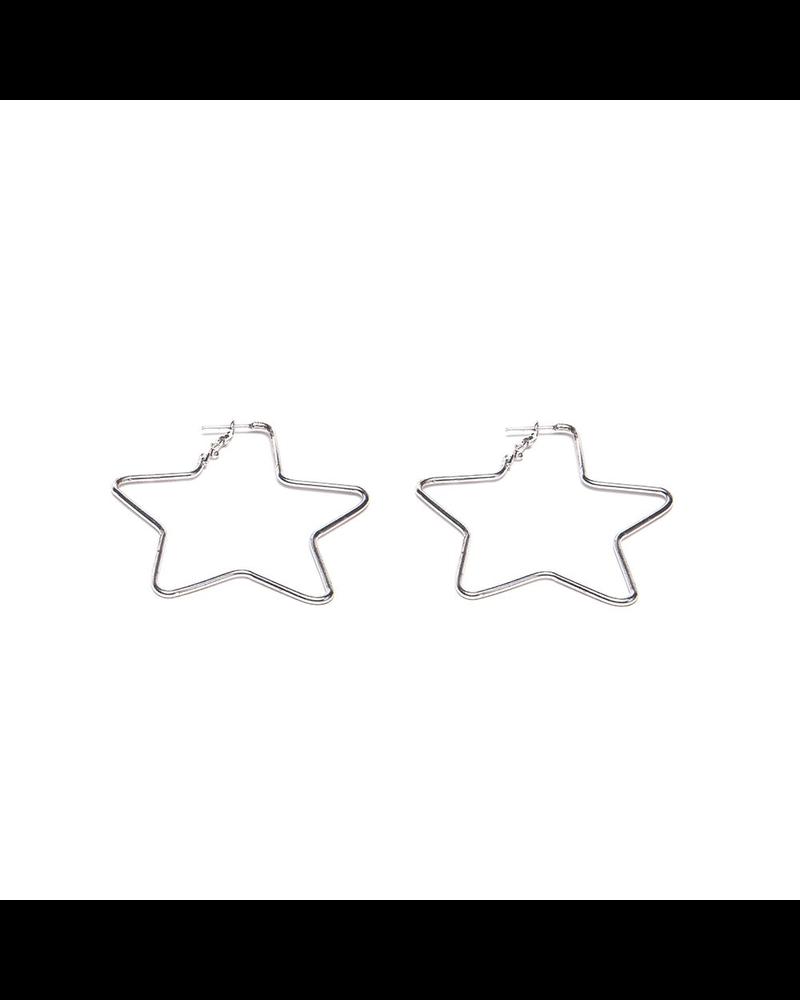 BIG STARS SHAPE EARRING