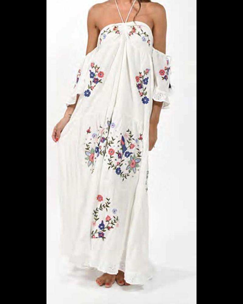 Boho Dress 100% Cotton