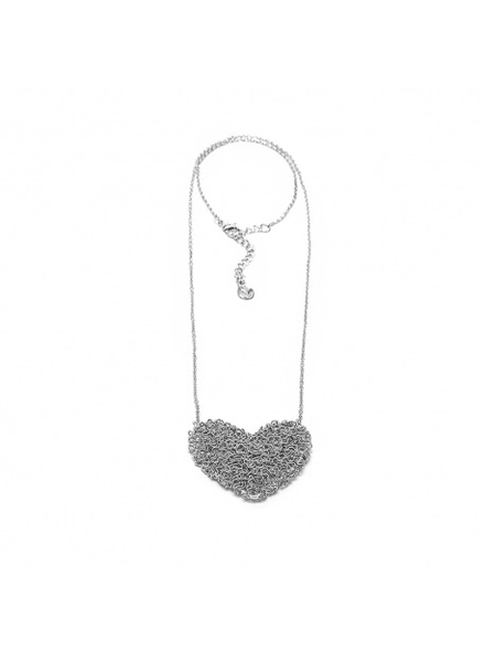 PENDANT MIDIUM HEART TANGLE WIRE