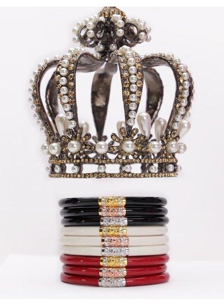 Black Three Kings Set Of 3