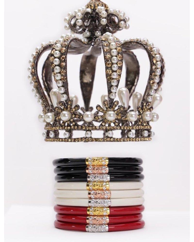 Ivory Three Kings Set Of 3