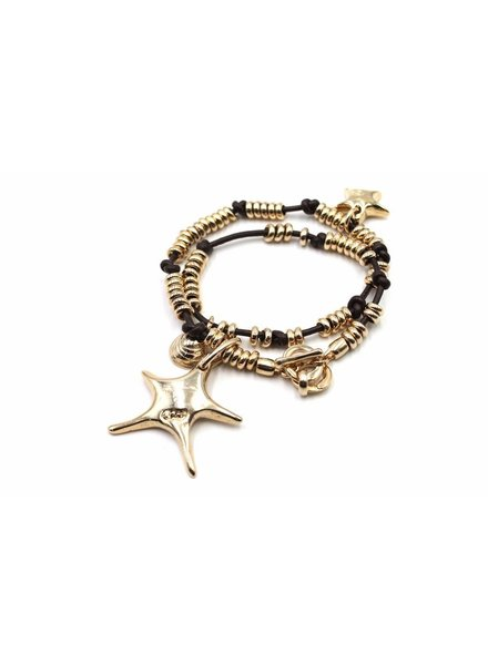 Superstar necklace . bracelet