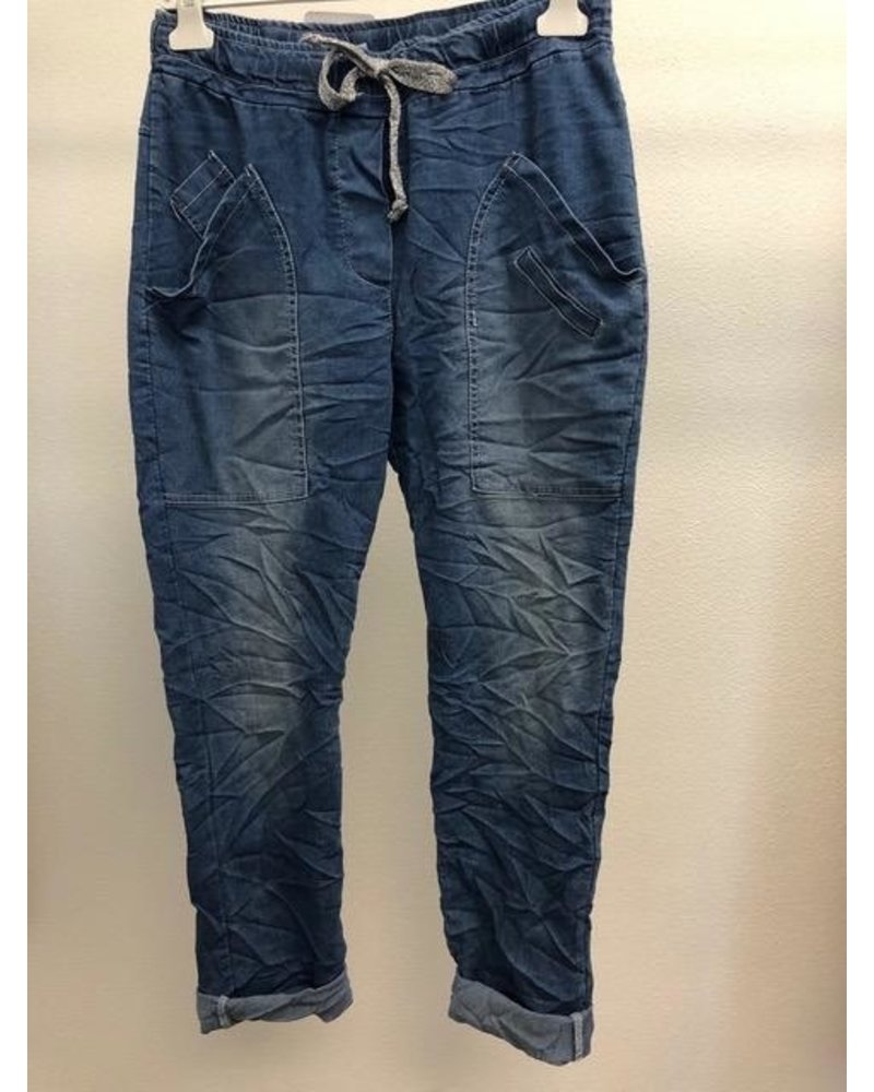 Denim Jeggings one size