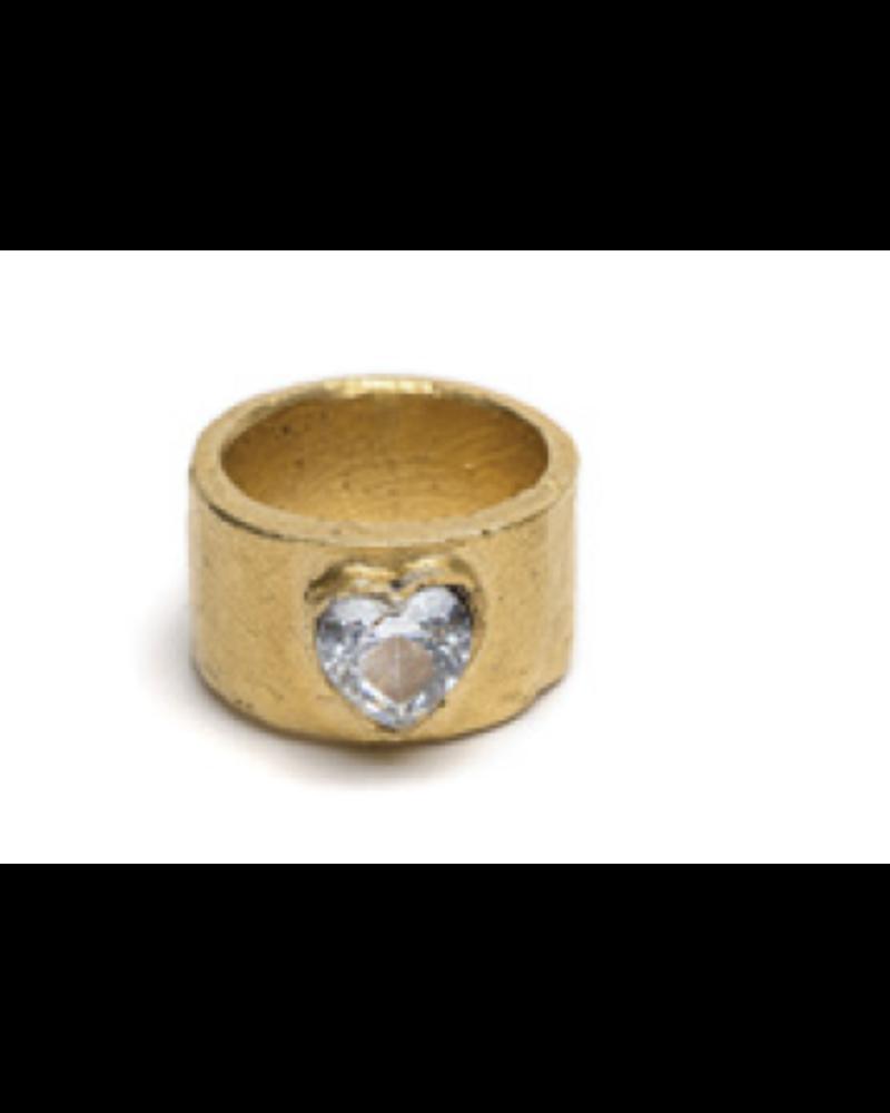 Heart Brass Ring