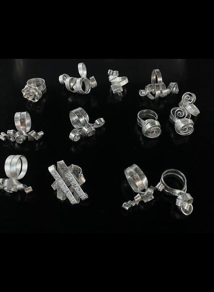 Sortijas en aluminio