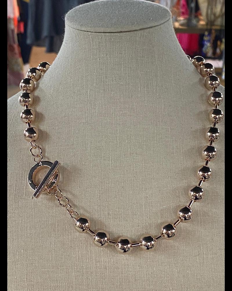 Gold Rose 10m Necklaces