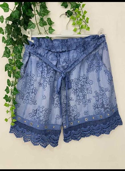 Lace Short Pant