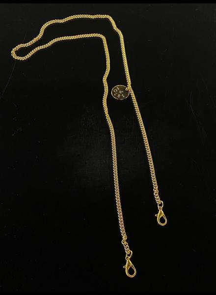 Cadena 18k gold plated 4 soles
