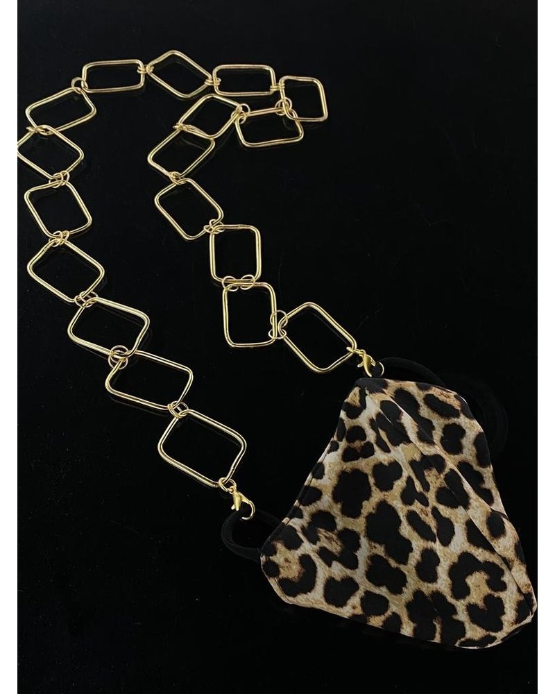 Gold Chain necklace or Mask