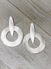 Gold Or Silver Plated Brass Earring