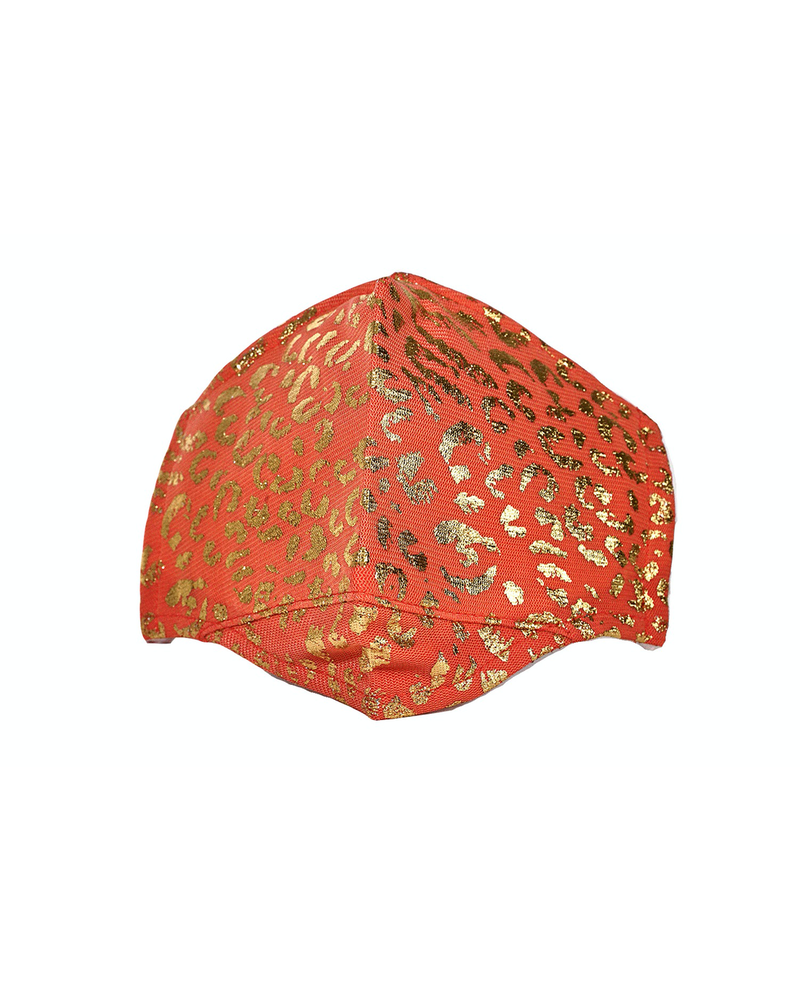 leopard Mesh mask