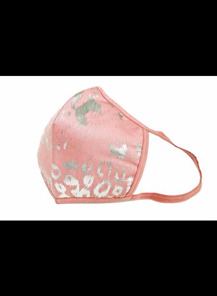 Tickle Pink Leopard Mask (Pink)