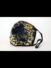 Leopard Splash Mask* (Navy Gold)