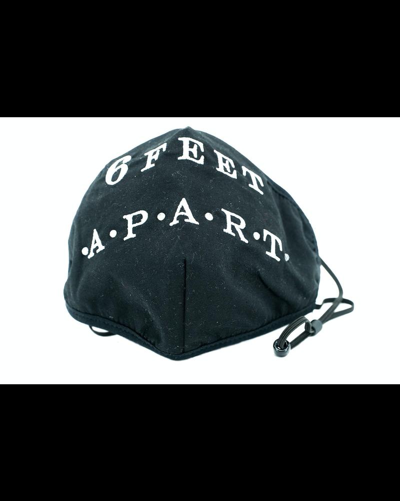 6 FEET APART Mask (Black)