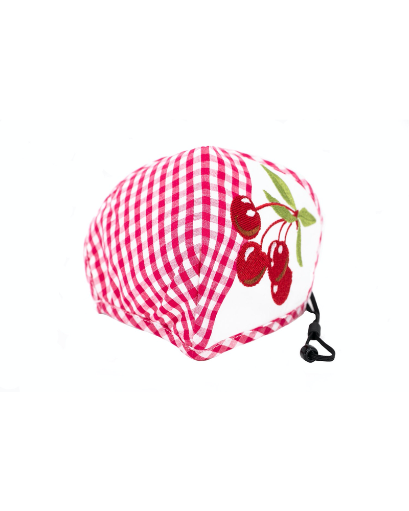 Cherries Deluxe Mask (Red)