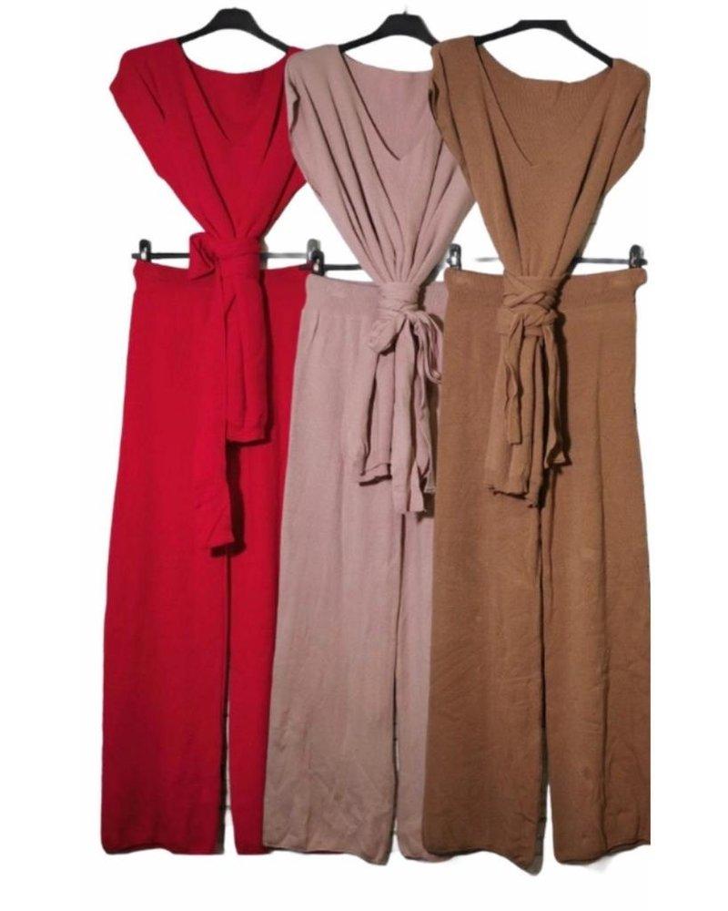 Light Knit Set Tunic