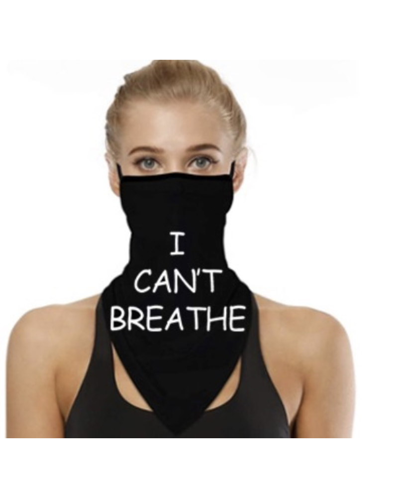 Can't Breath Neck Scarf