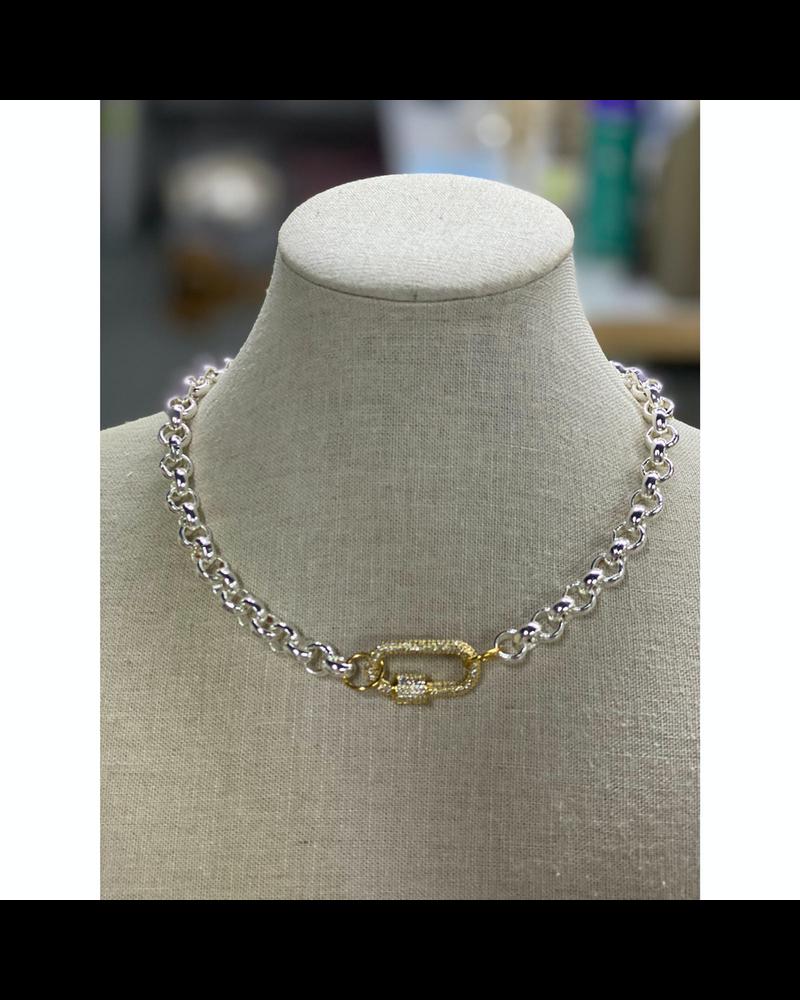 Lock Necklace