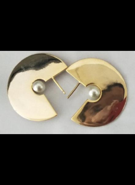 Pierced Brass 18k
