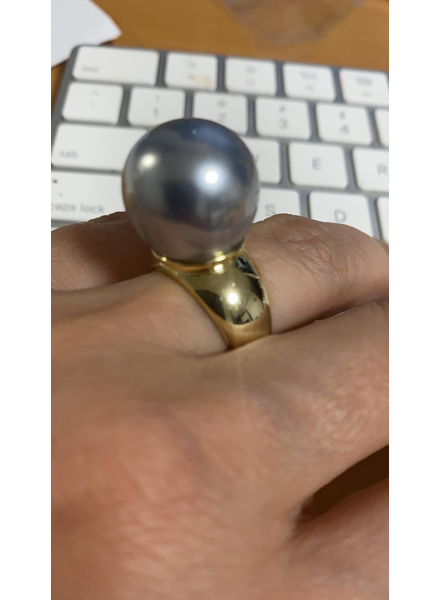 Pearl Ring Gold 18k