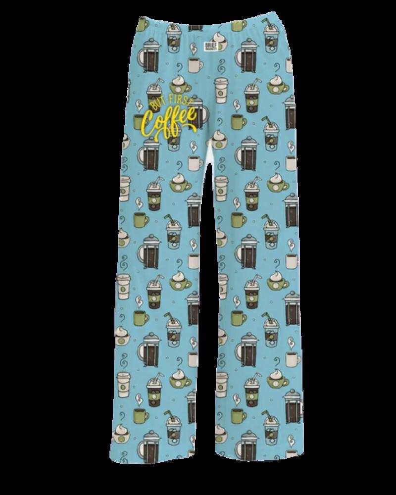 First Coffee Pajama pants