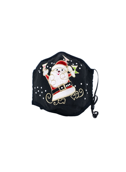 santas Juggling Dance (Black)
