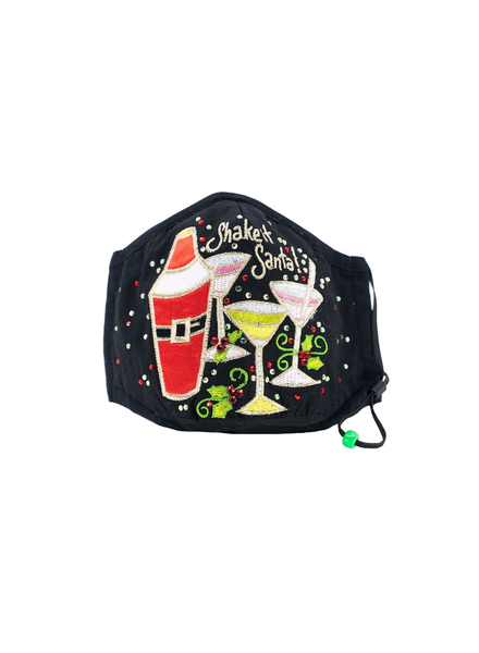 Shake it Santa Mask (Black)