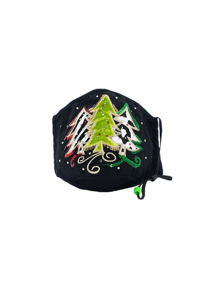 Three Trees Mask (Black)