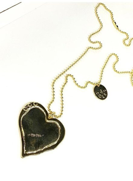 necklace 4 soles, gold plated