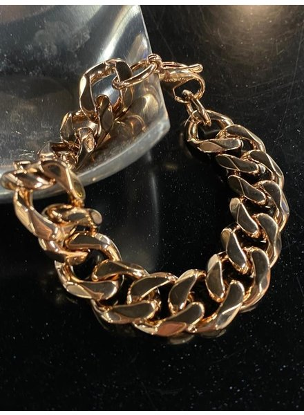 bracelet 4 soles rose gold