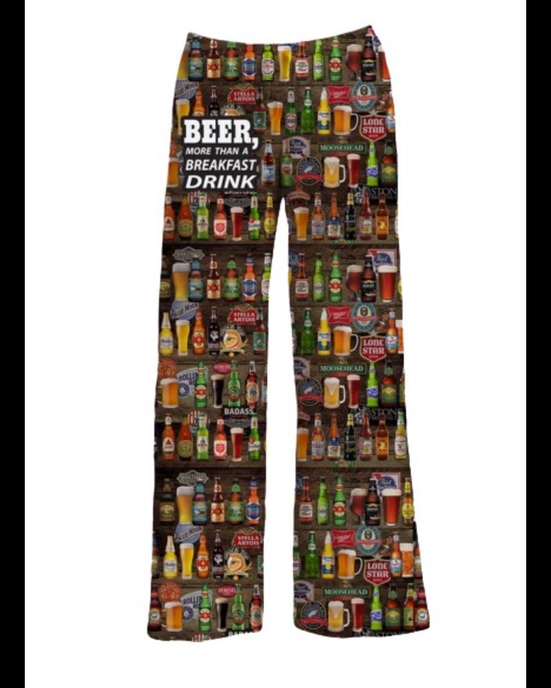 Beer for breakfast Pajama pant