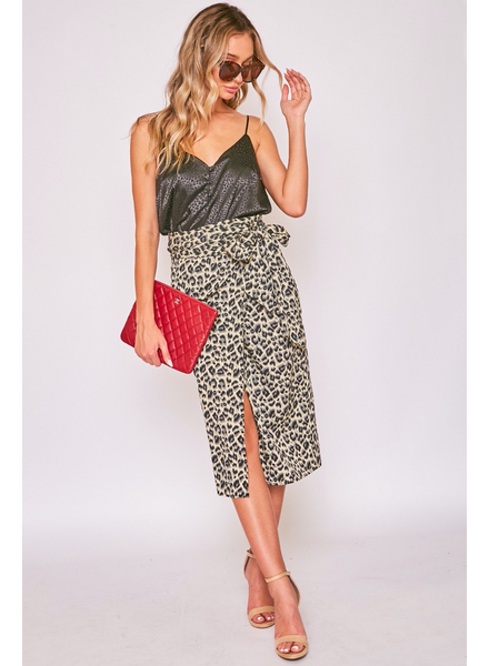 LEOPARD WRAP SKIRTS