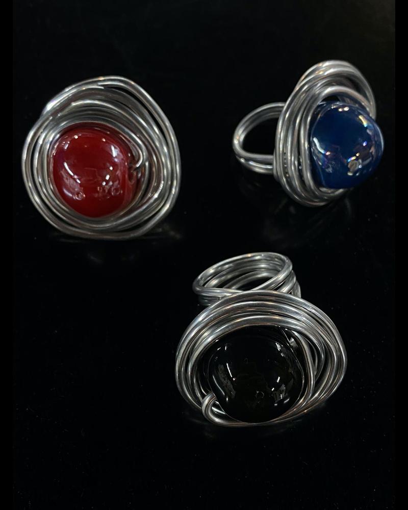 Big Ball Ceramic Ring