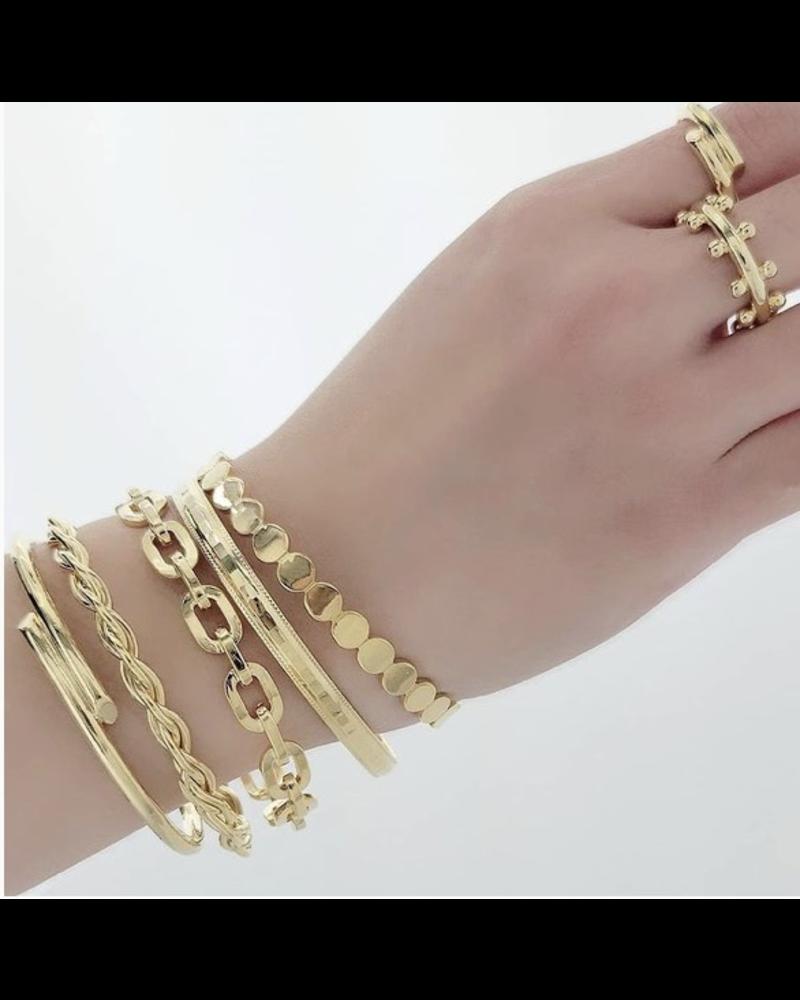 5 bracelet 2 Rings
