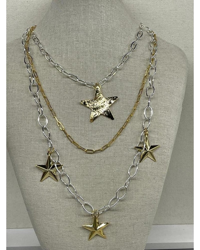 4 star necklace