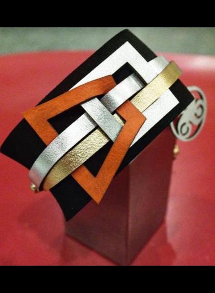 Leather Bracelet Handmade
