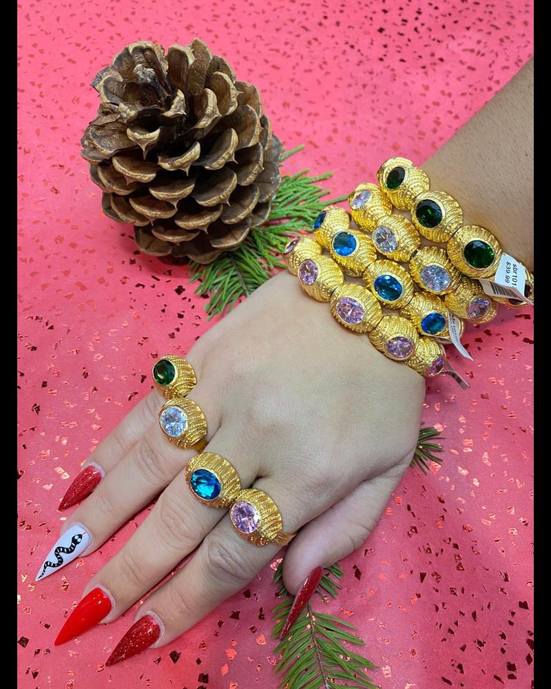 4 bracelet 4 rings