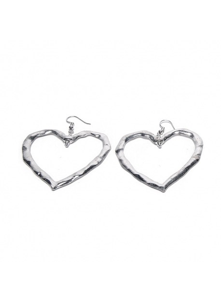 IRREGULAR HEARTS EARRING